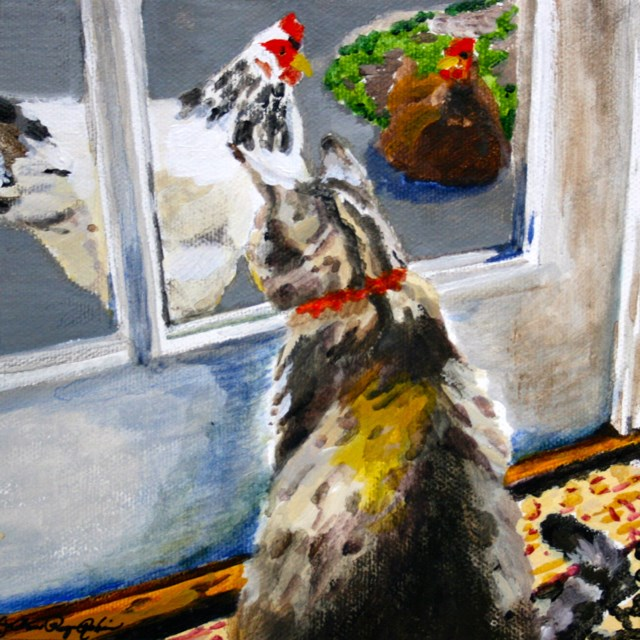 """""""What Are These Guys Selling?"""" original fine art by JoAnne Perez Robinson"""