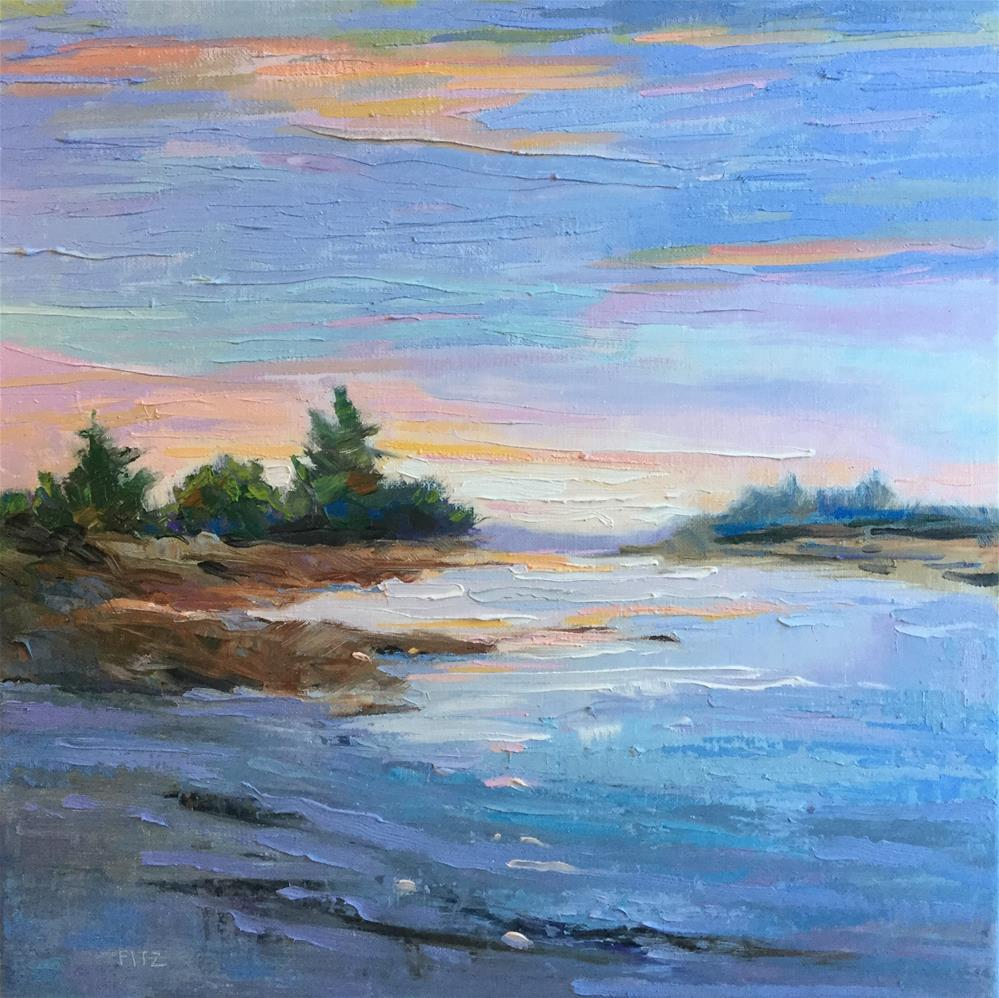 """The Shore"" original fine art by Charlotte Fitzgerald"