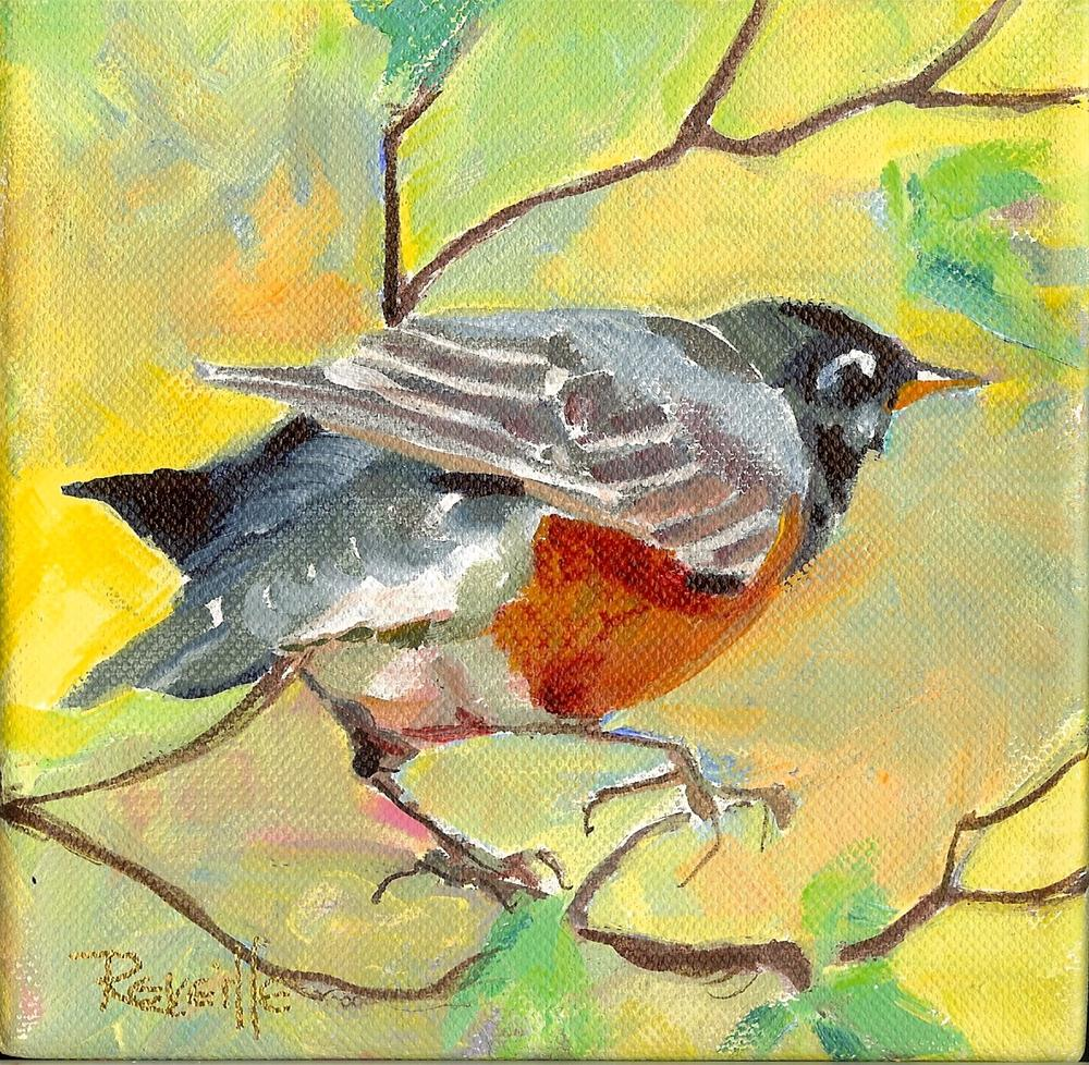 """""""How Can I Keep From Singing?"""" original fine art by Reveille Kennedy"""