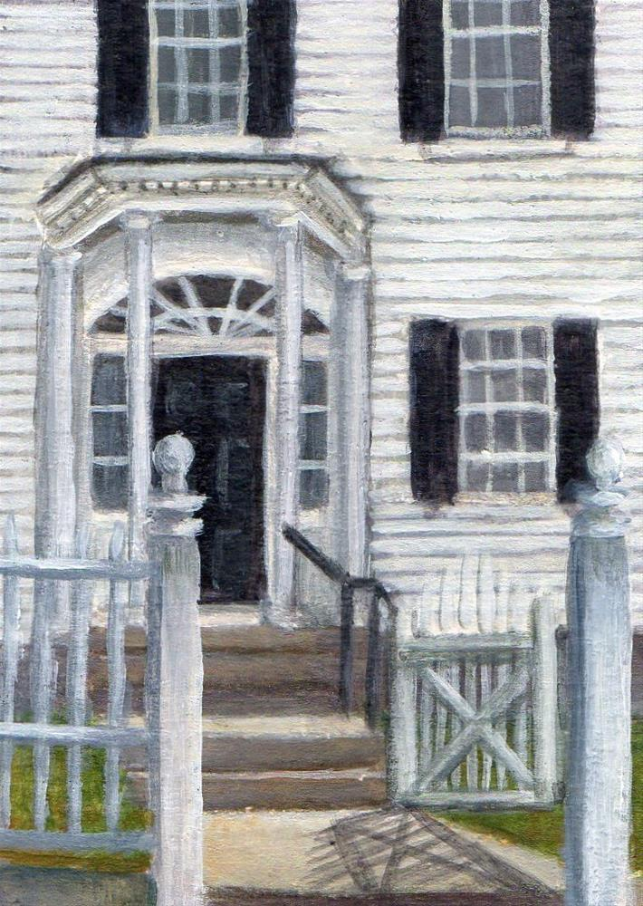 """""""Emerson Center"""" original fine art by Debbie Shirley"""