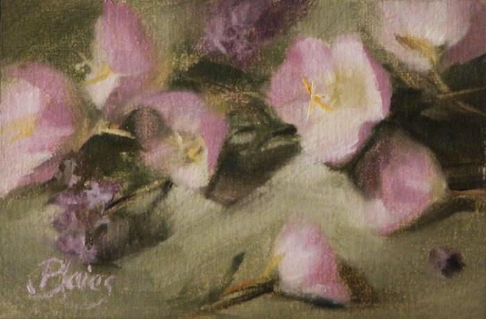 """""""Buttercups"""" original fine art by Pamela Blaies"""