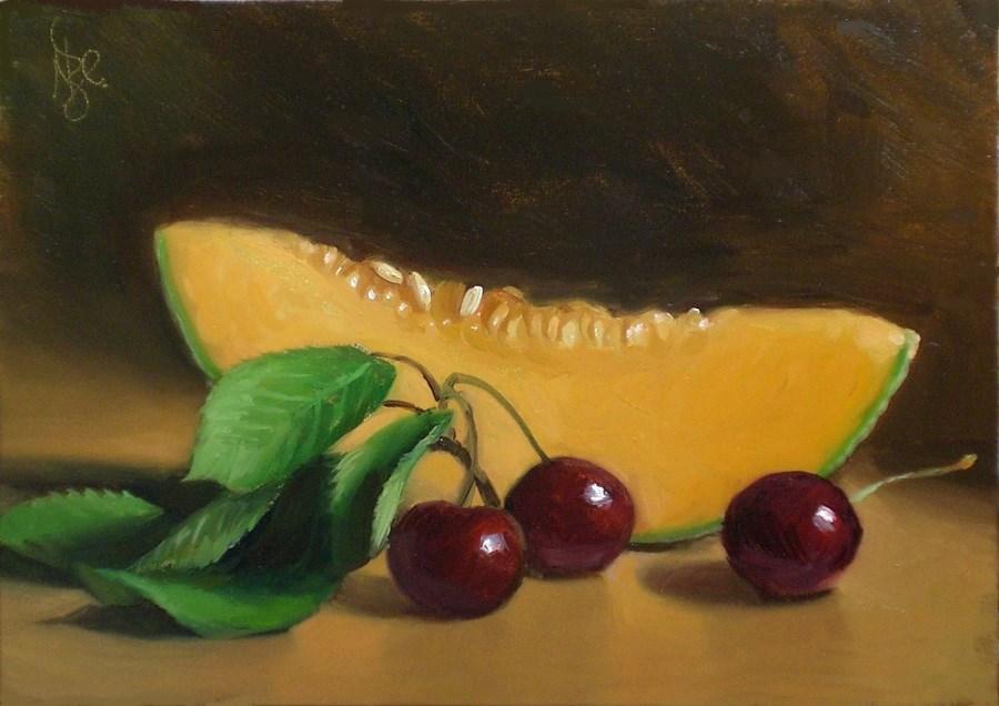 """Speak to Me of Summer"" original fine art by Debra Becks Cooper"
