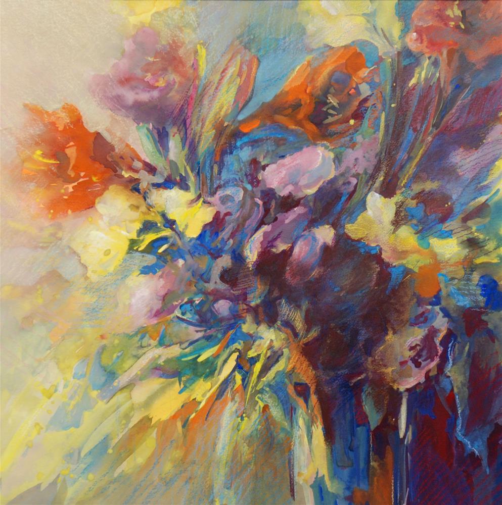 """""""Remember the summer"""" original fine art by Olga Touboltseva-Lefort"""