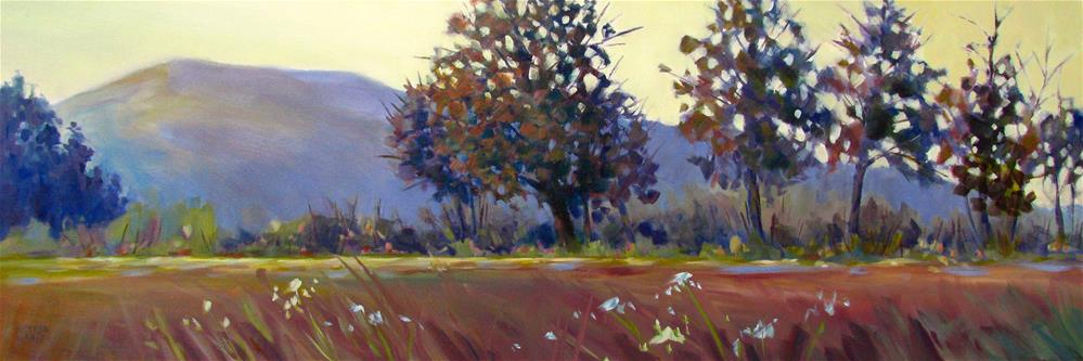 """Light in the Field"" original fine art by Melissa Gannon"