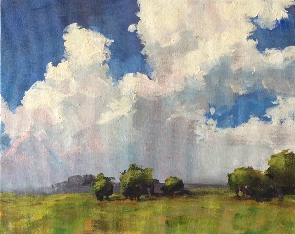 """Big Sky"" original fine art by Shannon Bauer"