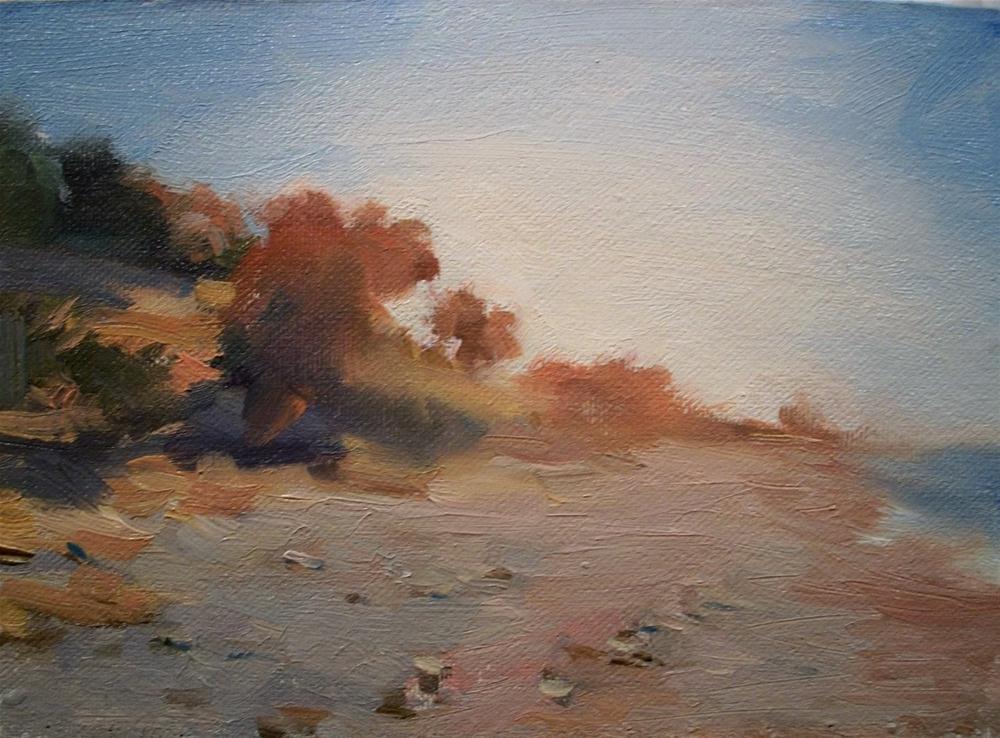 """Morning Coast"" original fine art by Doug Carter"