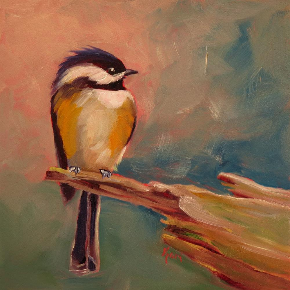 """Bird in Hand"" original fine art by Kari Melen"