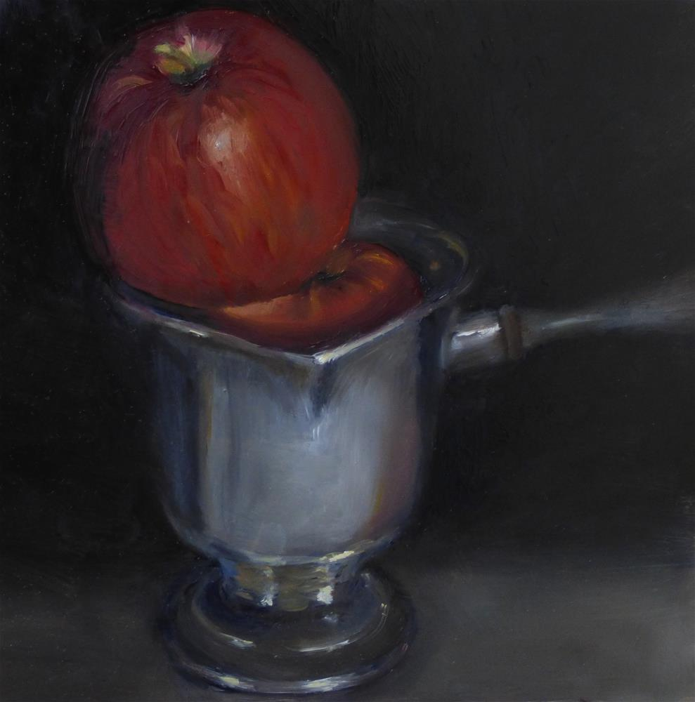 """Fresh Toddy"" original fine art by Christine Angelotta Dixon"