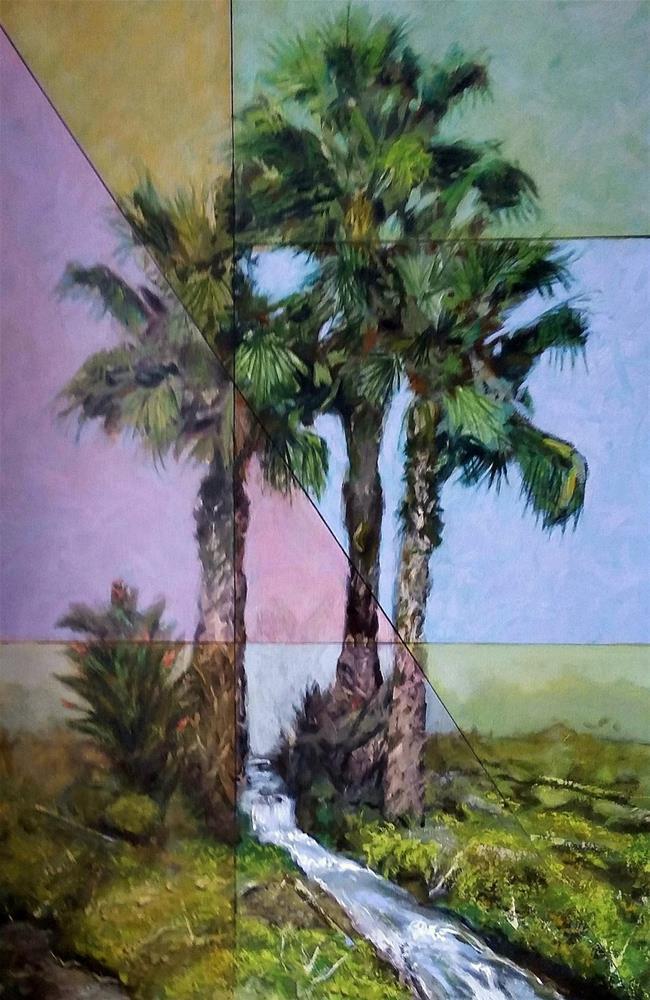 """Segments"" original fine art by David Larson Evans"