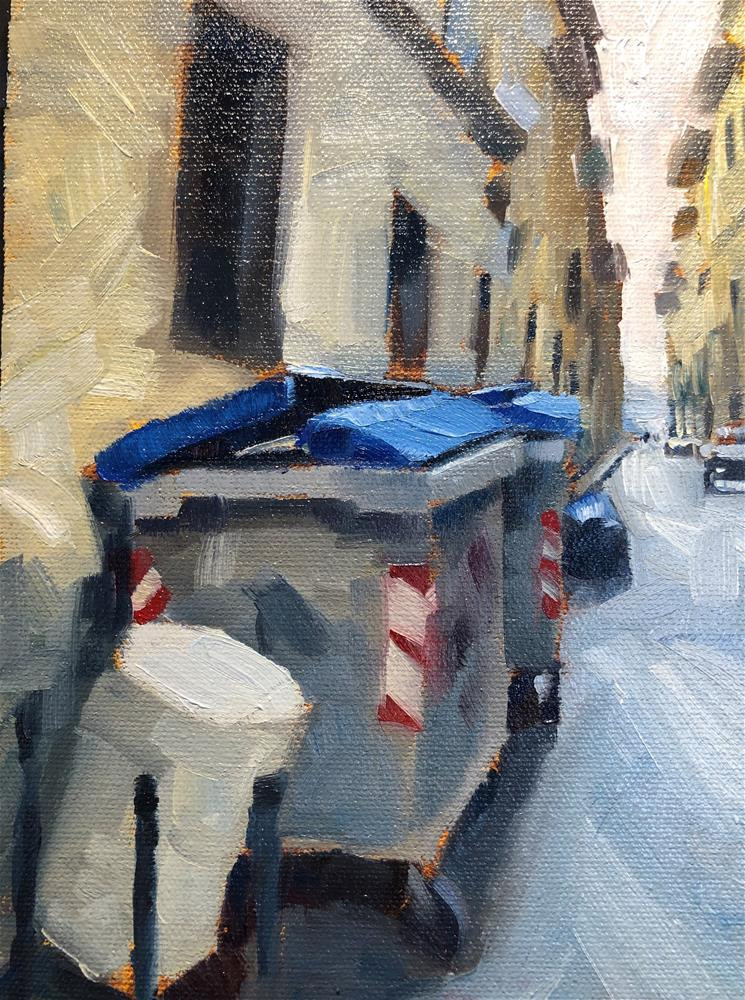 """Florentine Backstreet"" original fine art by Marla Baggetta"