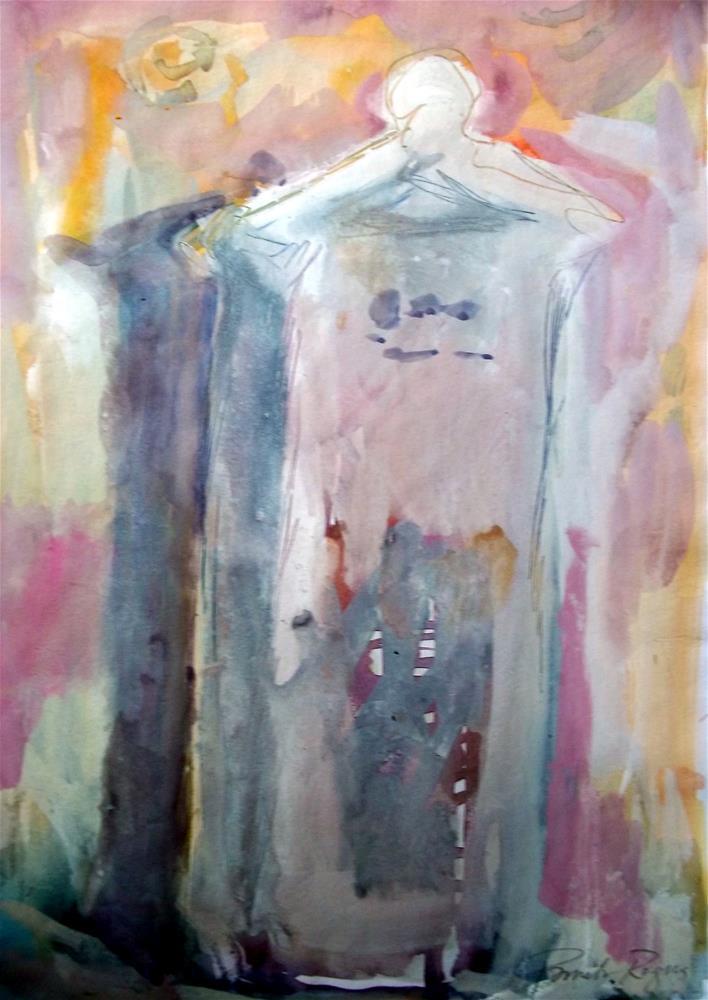 """Monument to Love"" original fine art by Pamela Jane Rogers"