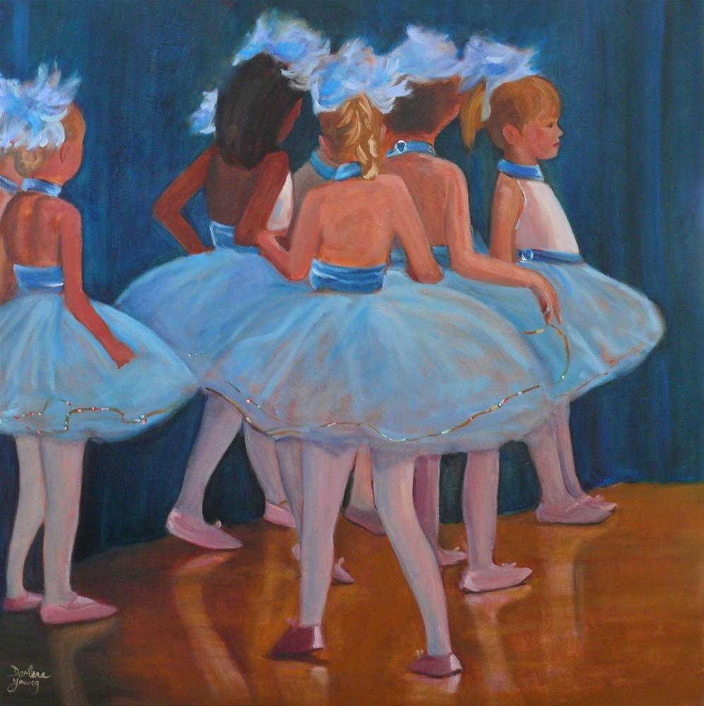 """646 First Performance"" original fine art by Darlene Young"