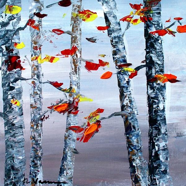"""""""Change of Season"""" original fine art by Anna Vreman"""