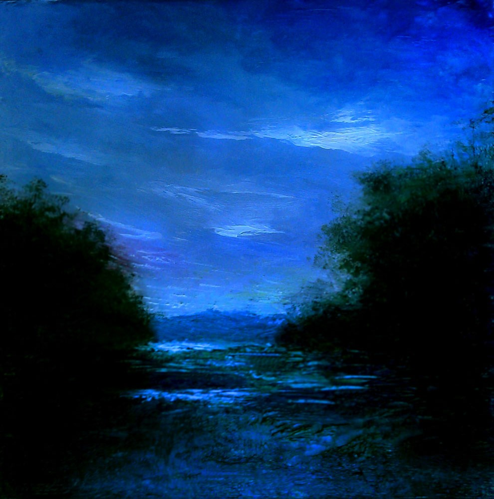 """Wetlands II"" original fine art by Bob Kimball"