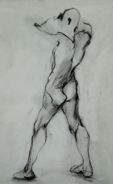 """""""20Jun-10"""" original fine art by Mitsuru Cope"""