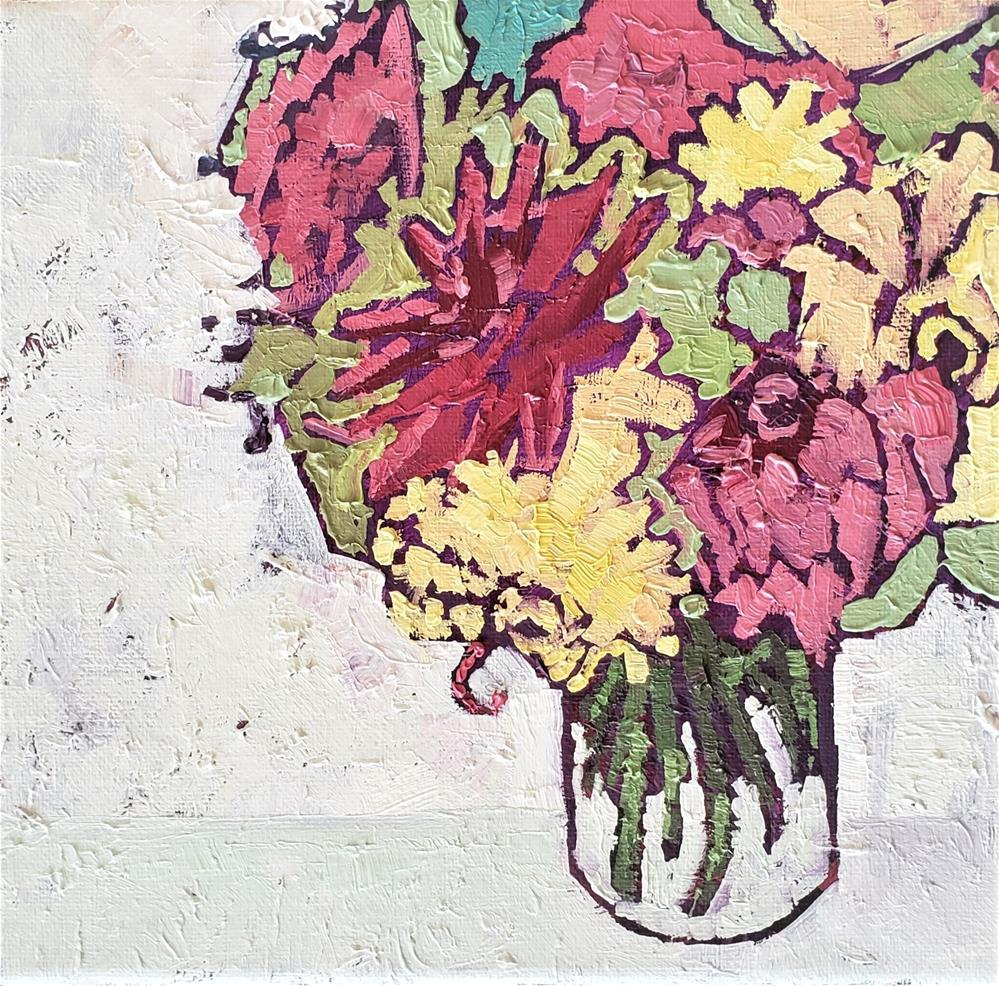 """Color Coded - Oil Painting by Bhavna Misra"" original fine art by Bhavna Misra"