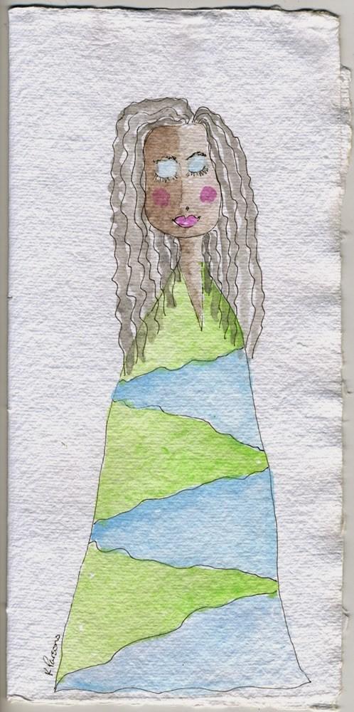 """Balance"" original fine art by Kali Parsons"
