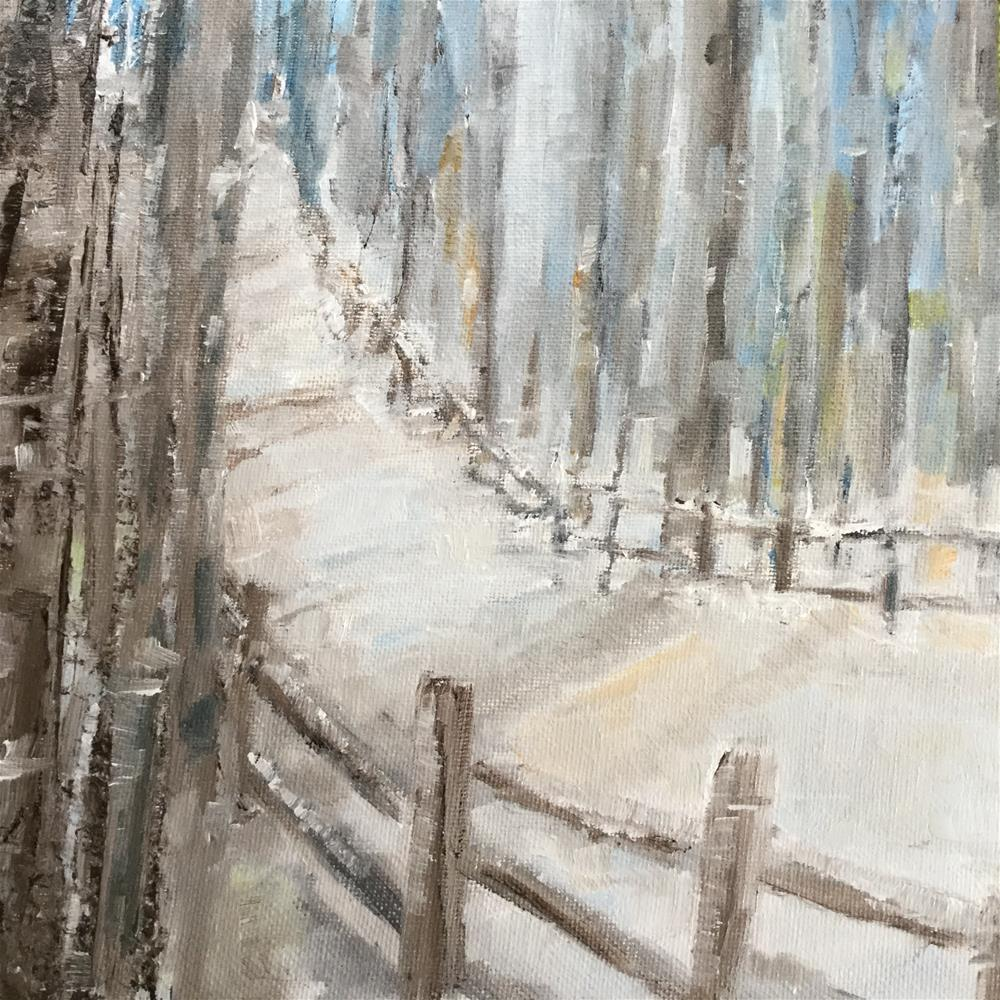 """Road to Tante's"" original fine art by pamela kish"