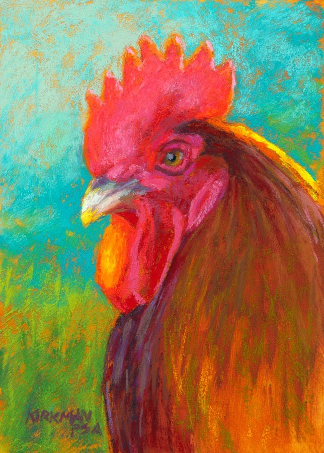 """Cooper - day 10"" original fine art by Rita Kirkman"
