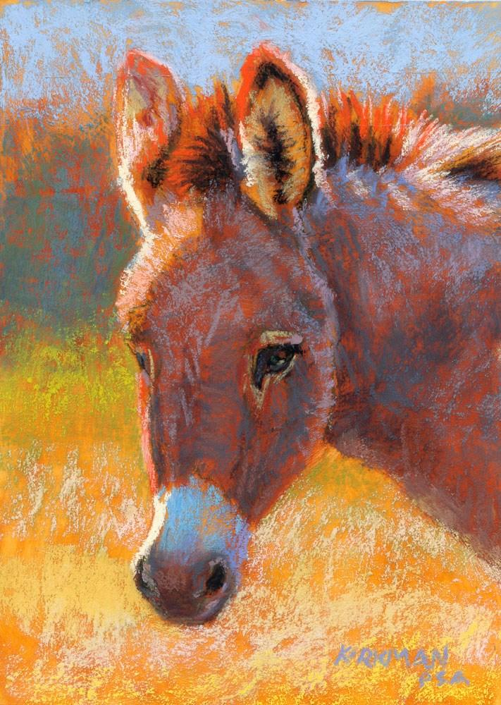 """Don Kee"" original fine art by Rita Kirkman"