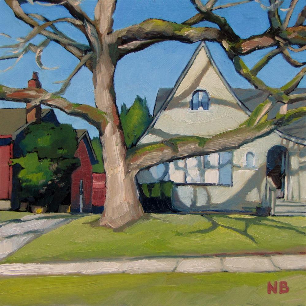 """Overshadowed"" original fine art by Nora Bergman"