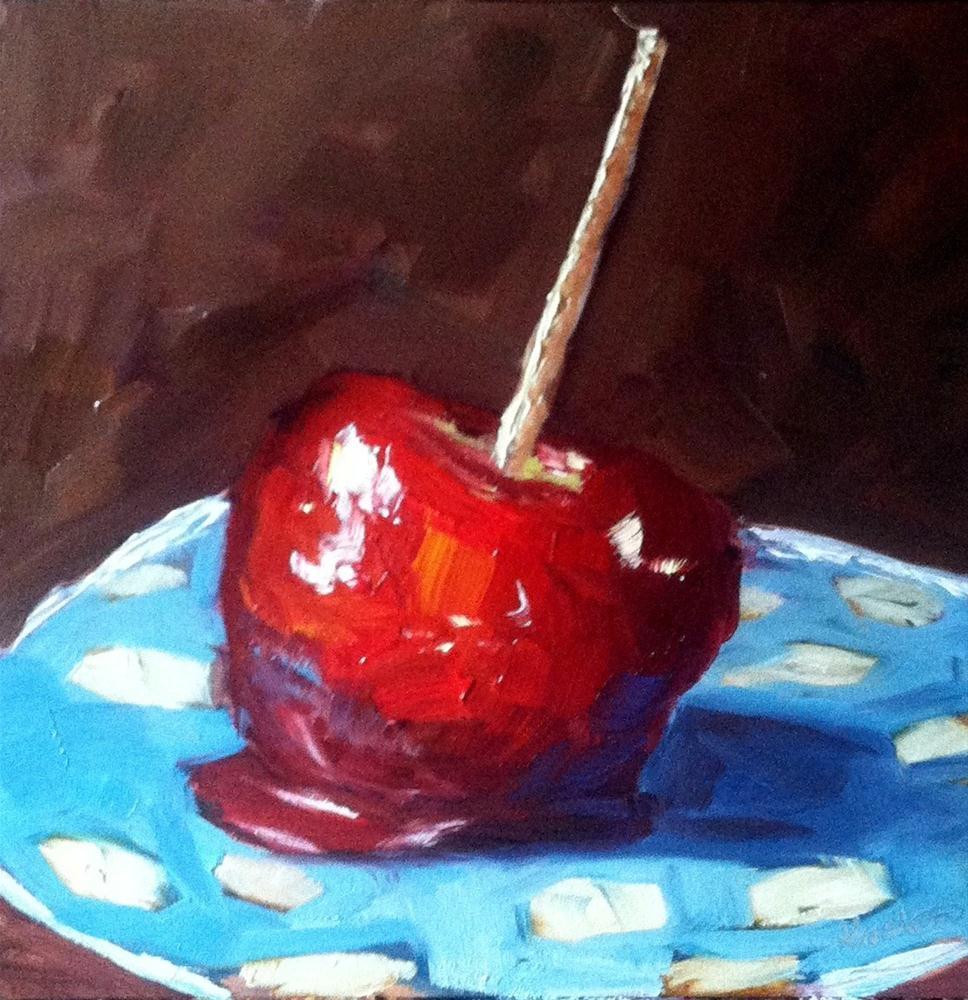 """""""Candy Apple"""" original fine art by Kristen Dukat"""