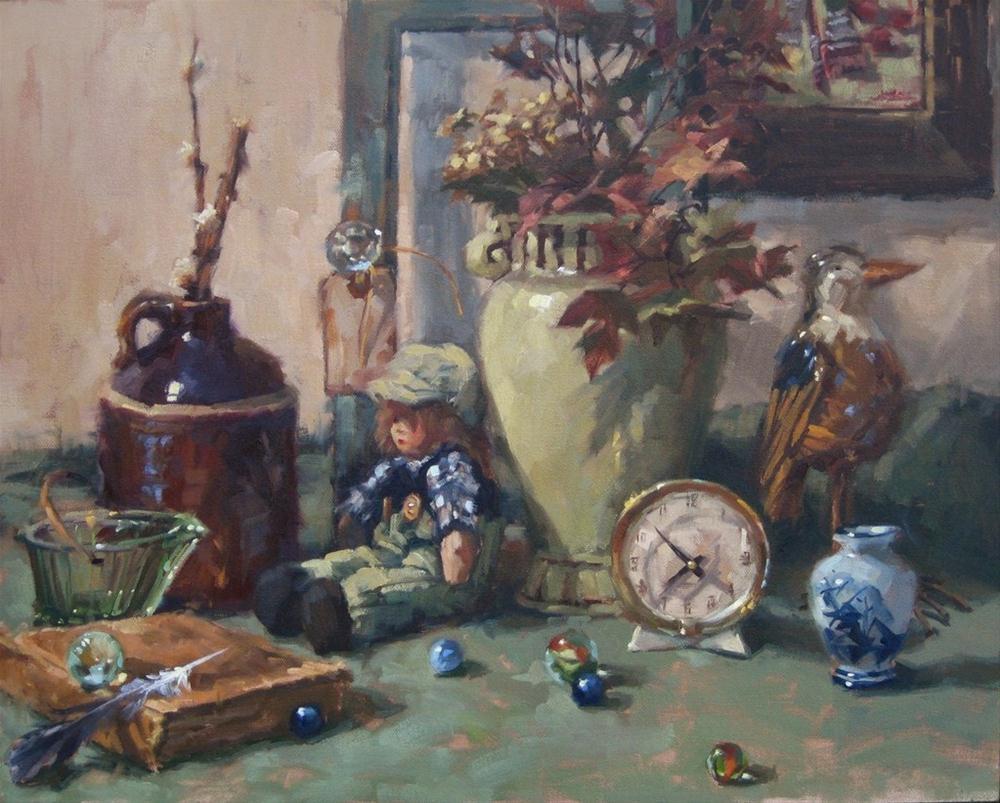 """""""Nostalgia"""" original fine art by Karen Werner"""