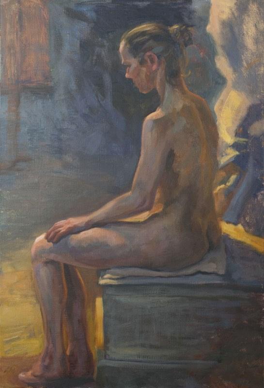 """Contre-jour"" original fine art by Johan Derycke"