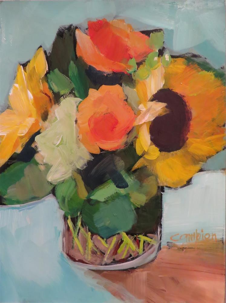 """""""672 No Worries"""" original fine art by Diane Campion"""