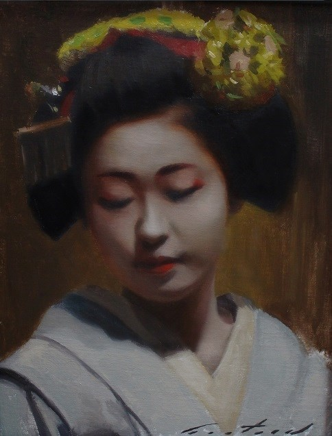 """Katsunosuke Study"" original fine art by Phil Couture"