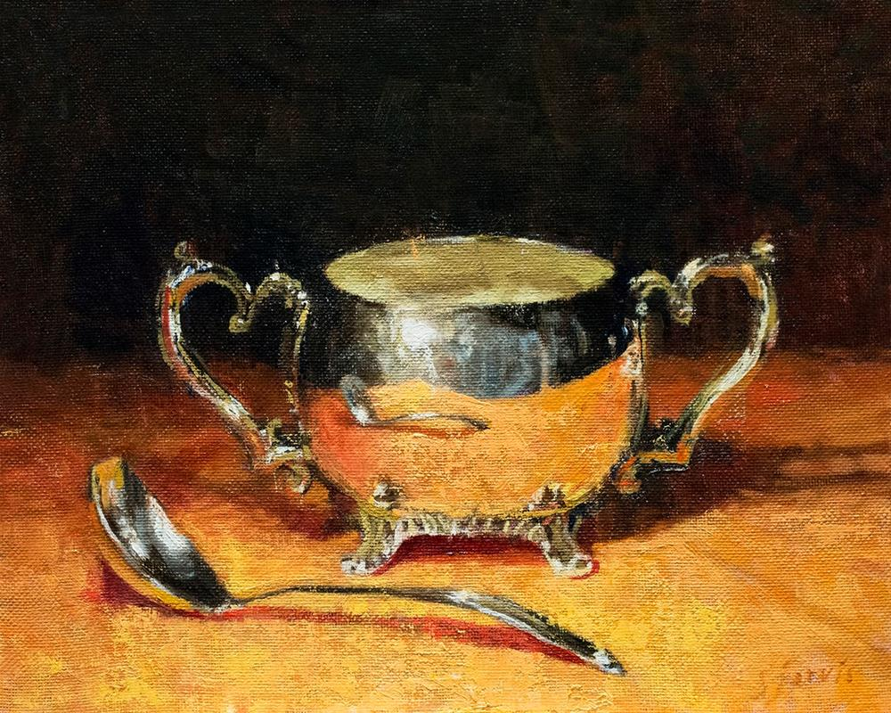 """Sugar Bowl"" original fine art by Susan N Jarvis"