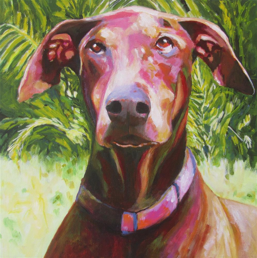 """Rosie"" original fine art by Patricia MacDonald"