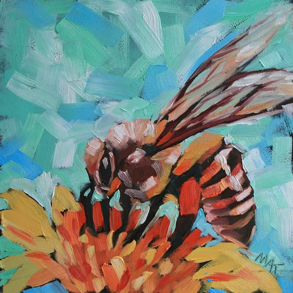 """""""Bee Sweet"""" original fine art by Mary Anne Cary"""