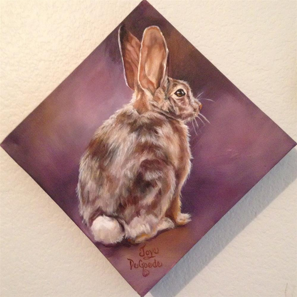 """Bunny Hop Three"" original fine art by Joye DeGoede"