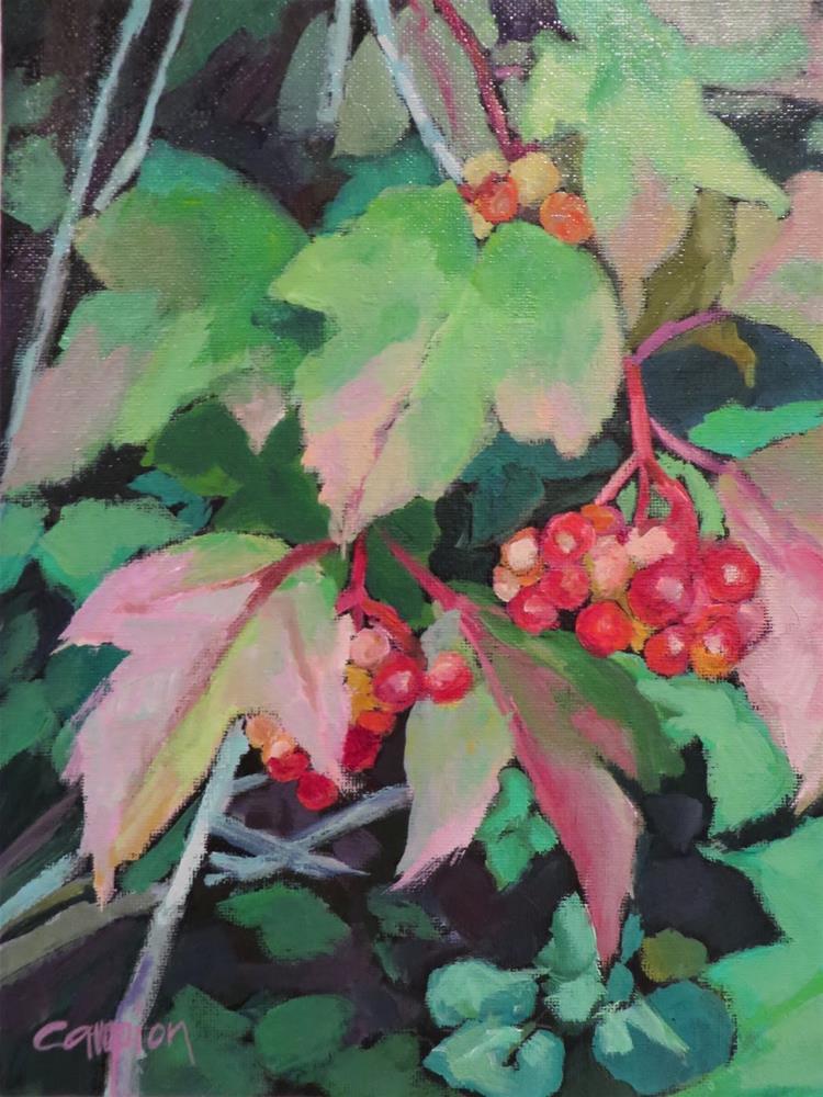 """714 Changing Seasons"" original fine art by Diane Campion"