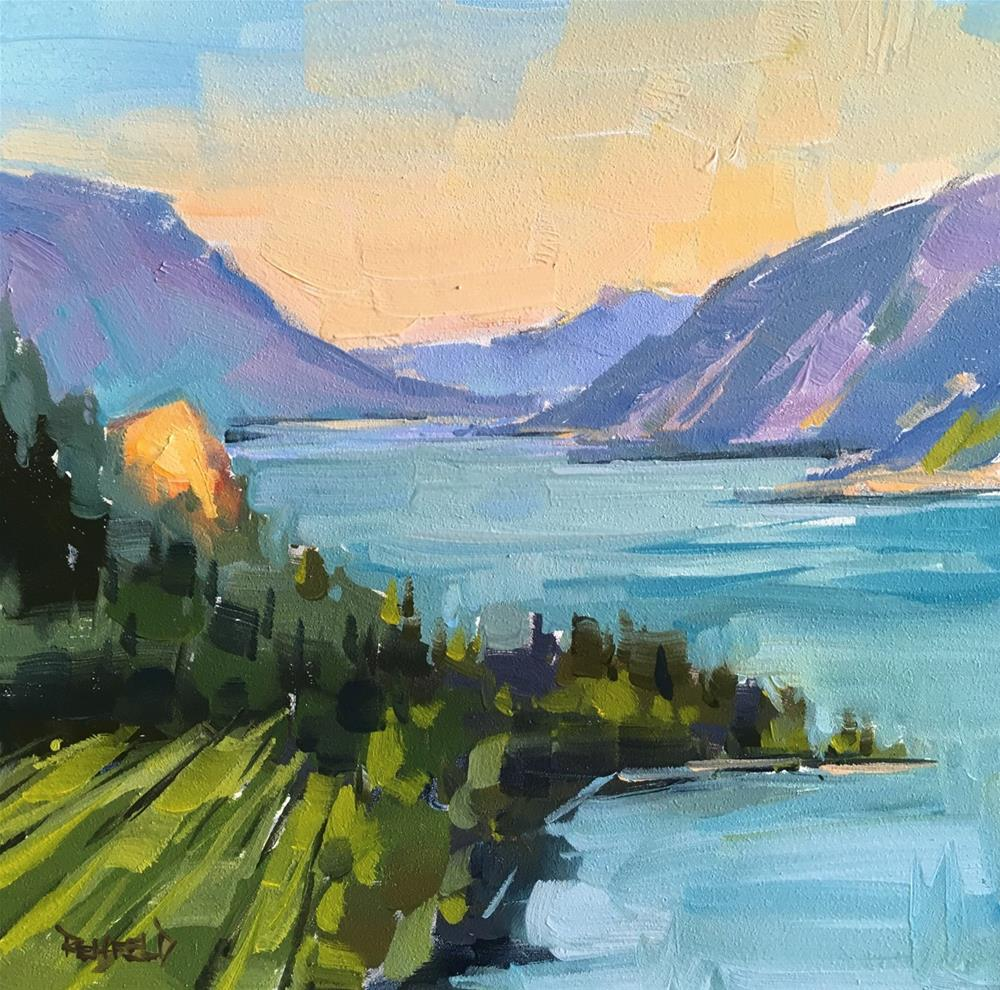 """The Gorge"" original fine art by Cathleen Rehfeld"