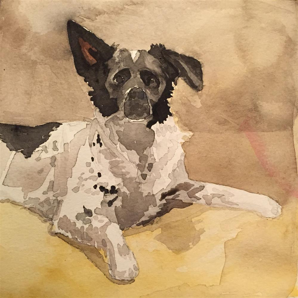 """Finley"" original fine art by Cindy McDonough"
