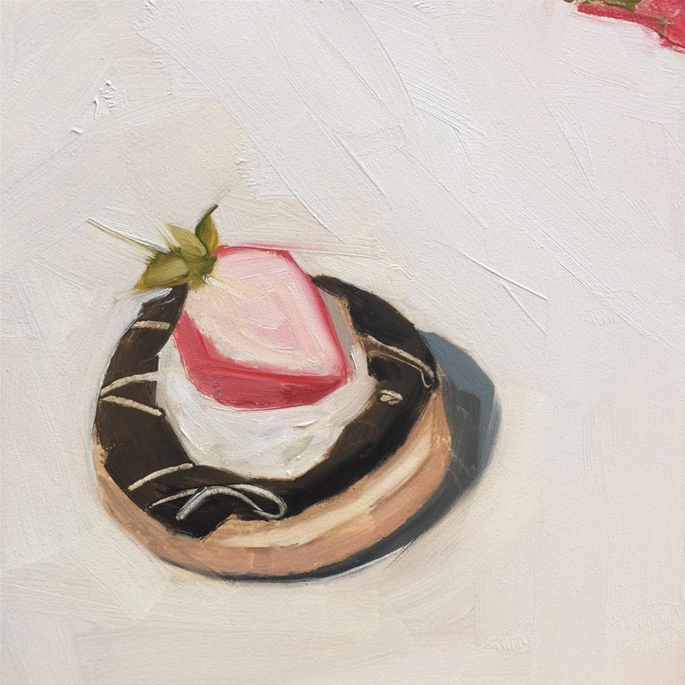 """""""351 Beauty of a Donut"""" original fine art by Jenny Doh"""