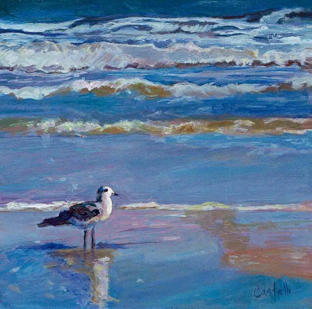 """Enjoying the View"" original fine art by Anna Castelli"