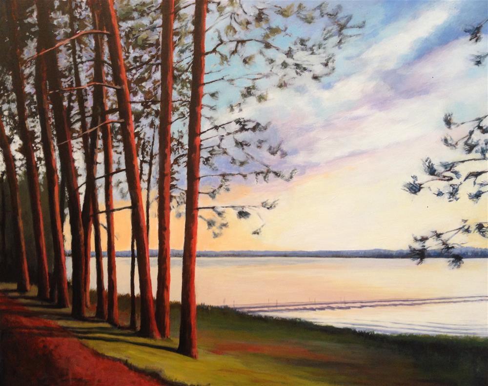 """Pines"" original fine art by Jim Musil"
