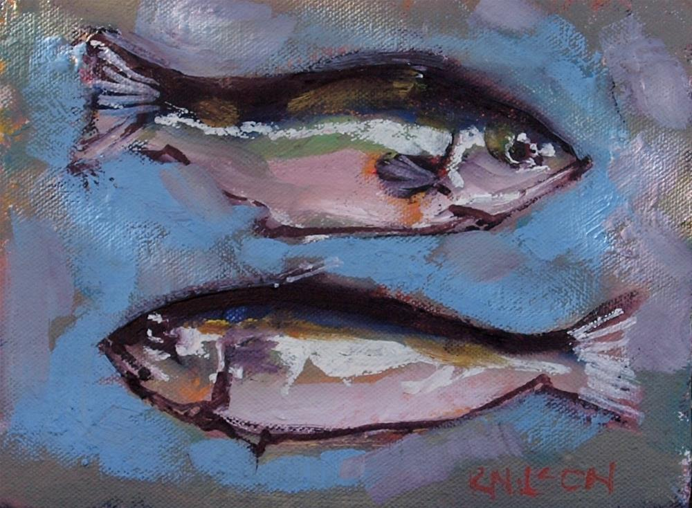 """Little Fishes"" original fine art by Rick Nilson"