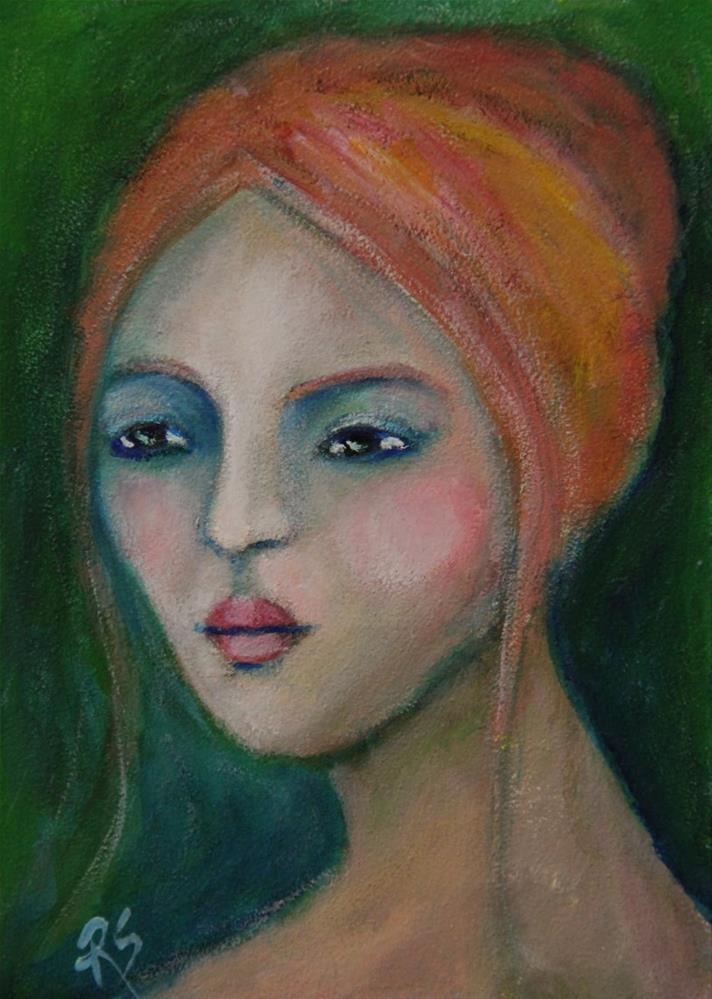 """""""Eden"""" original fine art by Roberta Schmidt ArtcyLucy"""