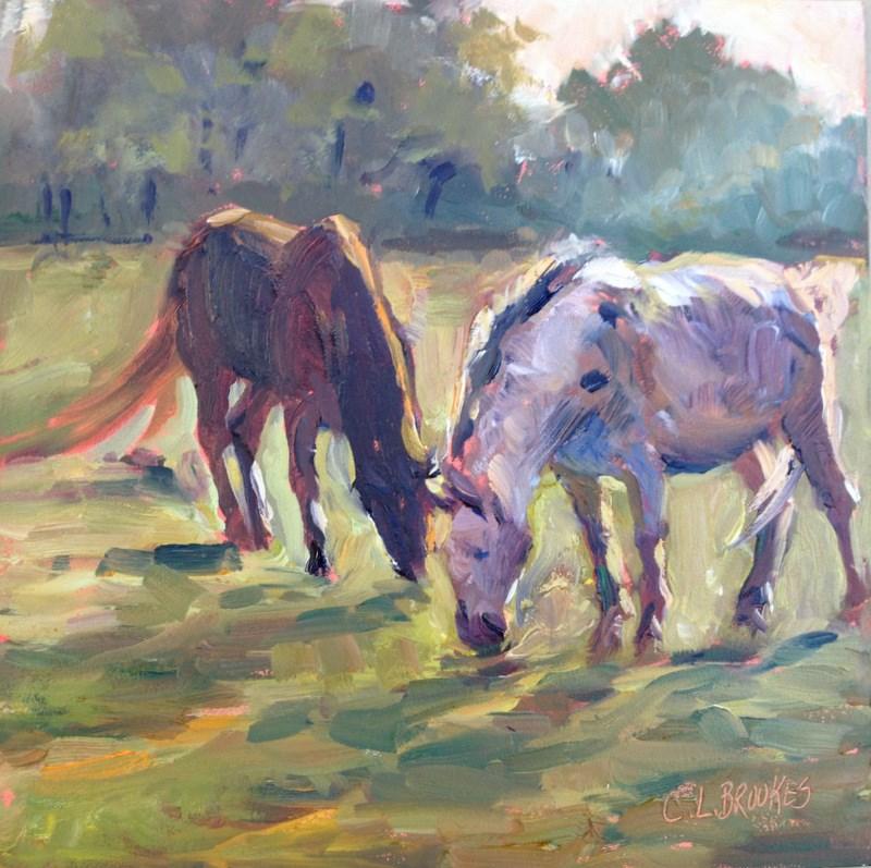 """Sun Catchers, Day 8"" original fine art by Claudia L Brookes"