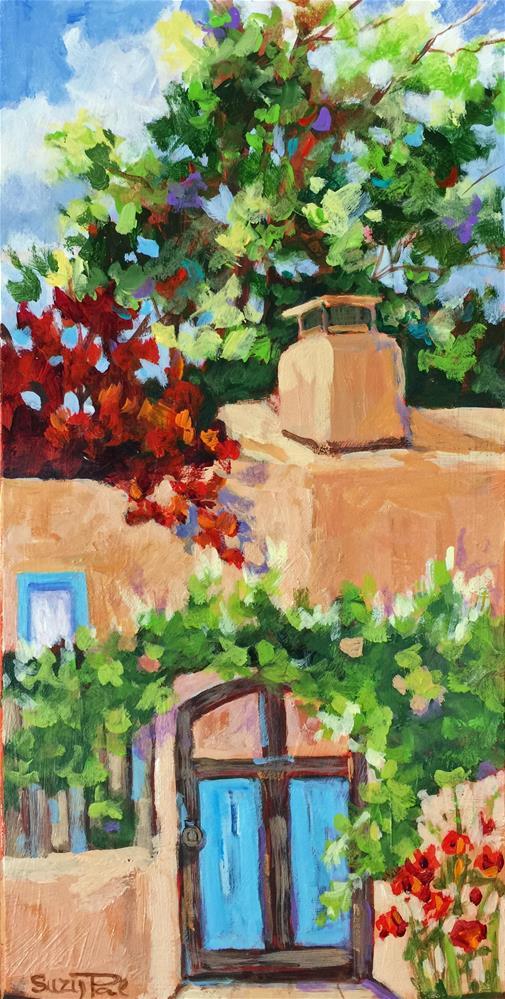 """Santa Fe Day 23"" original fine art by Suzy 'Pal' Powell"