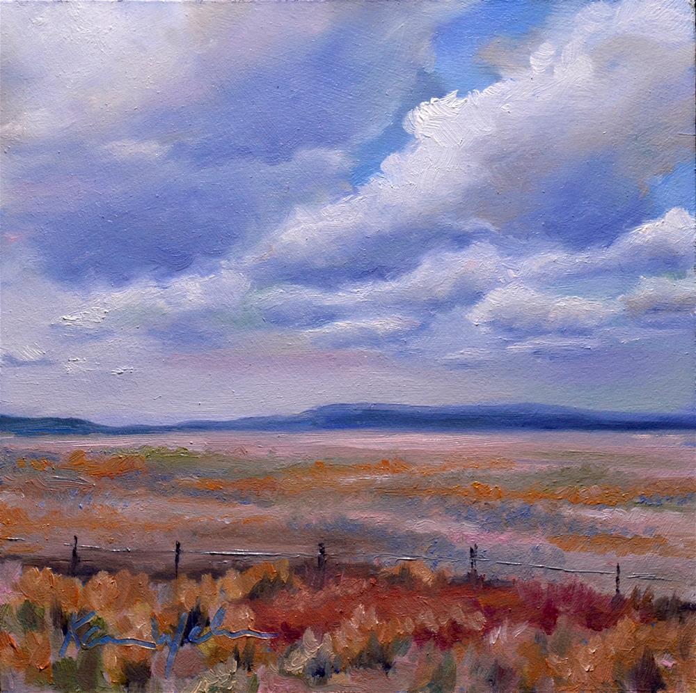 """""""Colorado"""" original fine art by Karen Weber"""