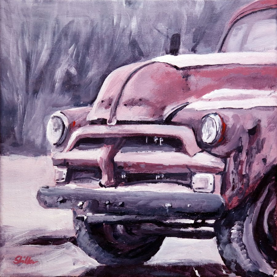 """1602 COTY Truck"" original fine art by Dietmar Stiller"