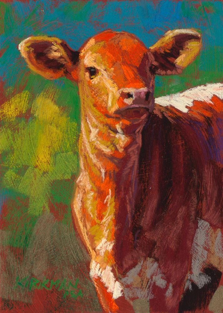 """Brassy"" original fine art by Rita Kirkman"