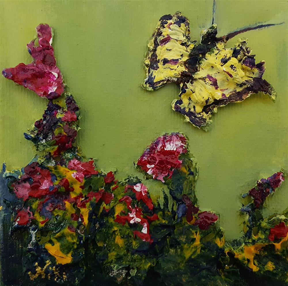 """Mini-Butterfly 2"" original fine art by Niki Hilsabeck"