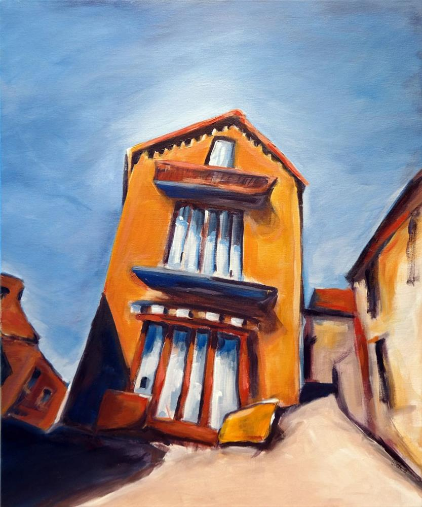"""""""0848 Limeuil"""" original fine art by Dietmar Stiller"""