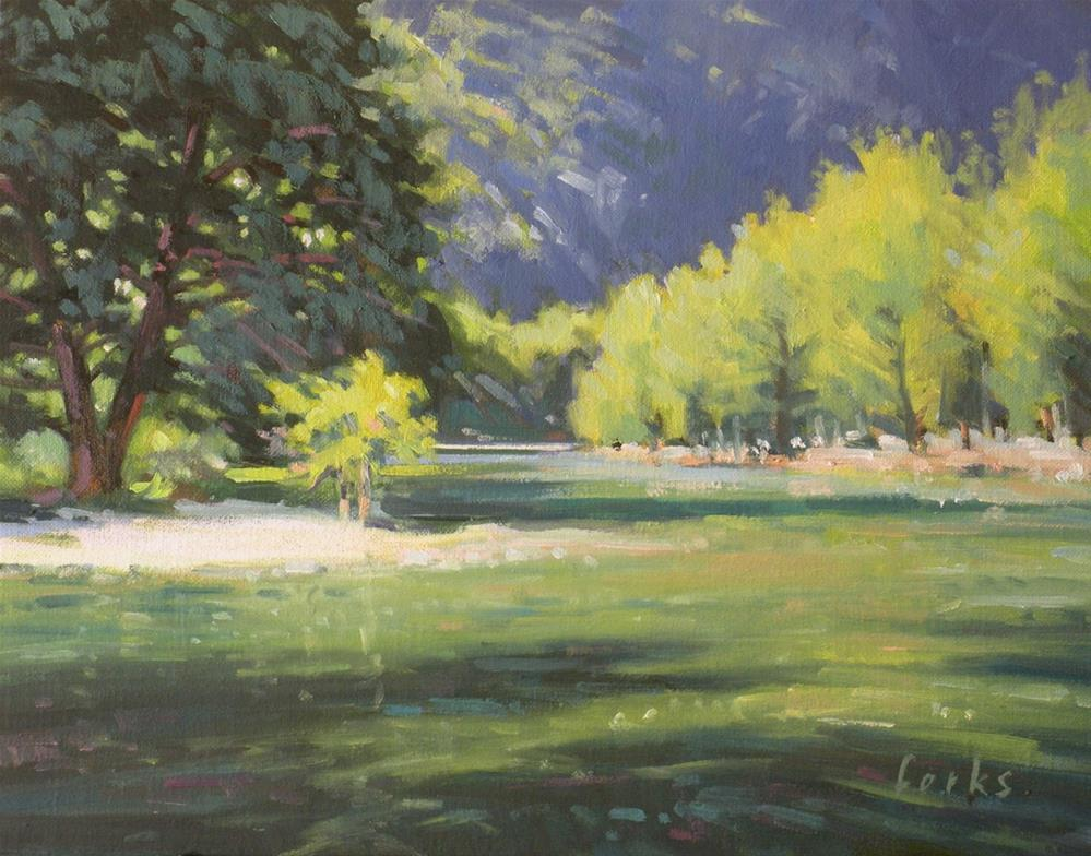 """Frio at Concan"" original fine art by David Forks"